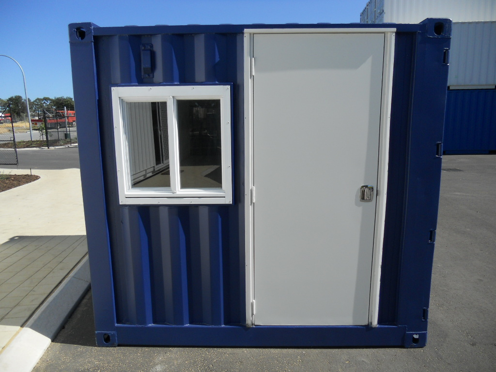 Small Portable Office : Portable site offices abc containers perth