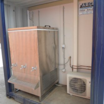 Water chiller & reverse cycle A/C