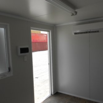 3.5m Office section with air conditioner
