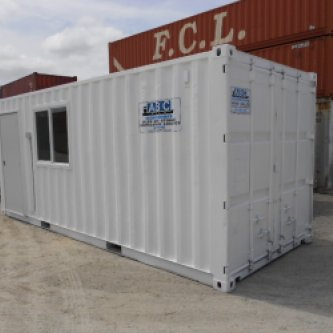 20' Office & storage container