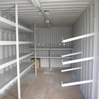 View of 4 tier Shelving & Racks
