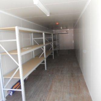 Used 40ft General Purpose Container interior