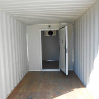 storage area in fridge partition