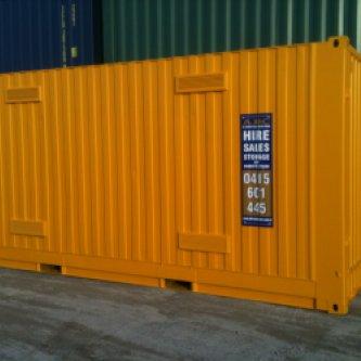 20' Dangerous Goods Container - Exterior