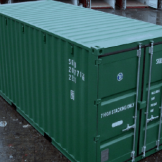 20 ft General Purpose Container -  Green, New Build
