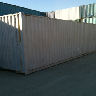 40' GP Container, Used