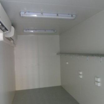 20' HC Computer Server Converted Shipping Container Interior
