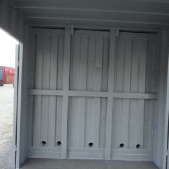 Internal Partition Wall of 40ft Workshop