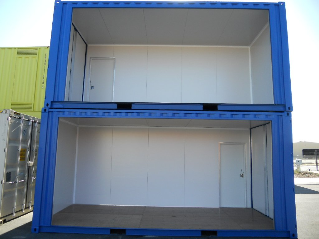 Insulated site office containers sea shipping containers for Insulated office