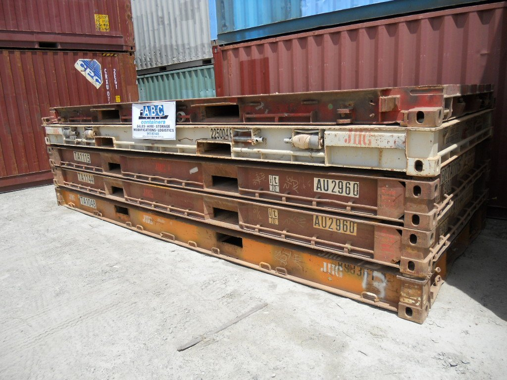 Used 20ft Flatracks Abc Containers Perth