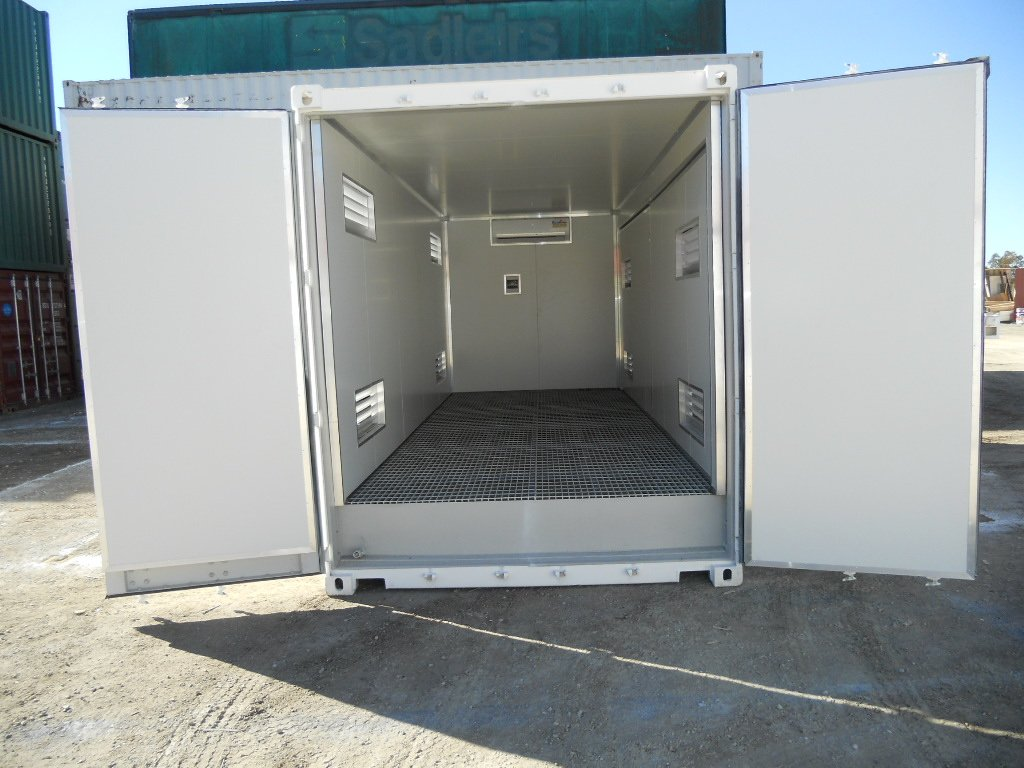 20ft High Cube Insulated Dangerous Goods Container Abc