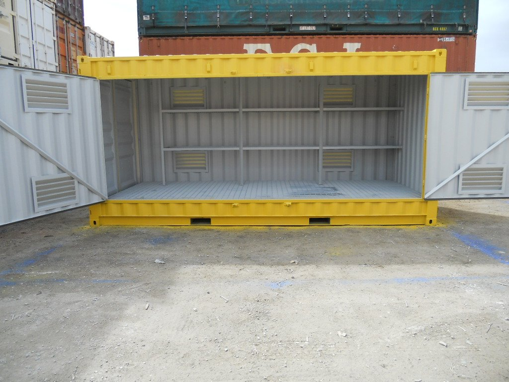 20ft Modified Dangerous Goods Container Abc Containers Perth