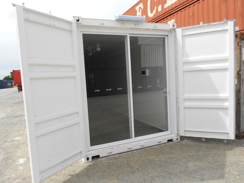 40ft Unfurnished High Cube Solar Control Room Abc