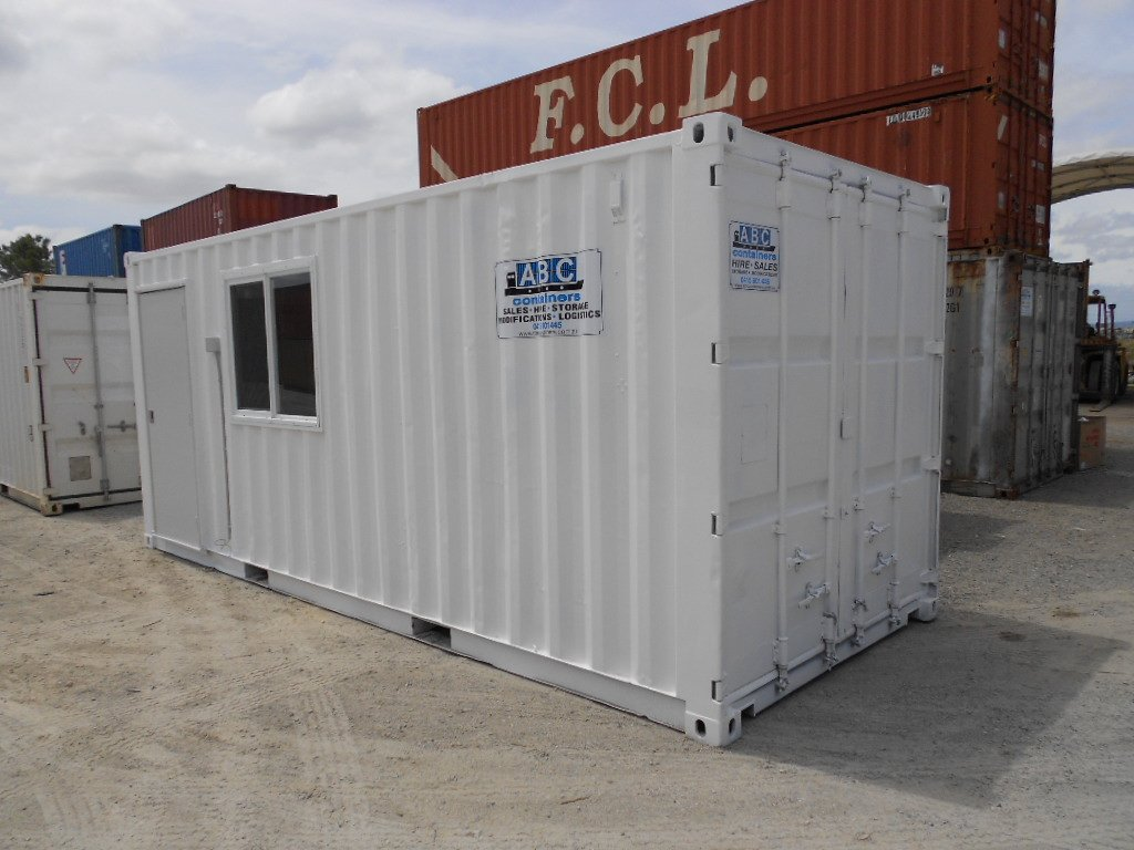 20u0027 Office u0026 storage container & 20ft Office / Storage | ABC Containers Perth