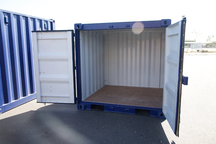 New 6 foot sea shipping containers perth wa for Tall shipping container