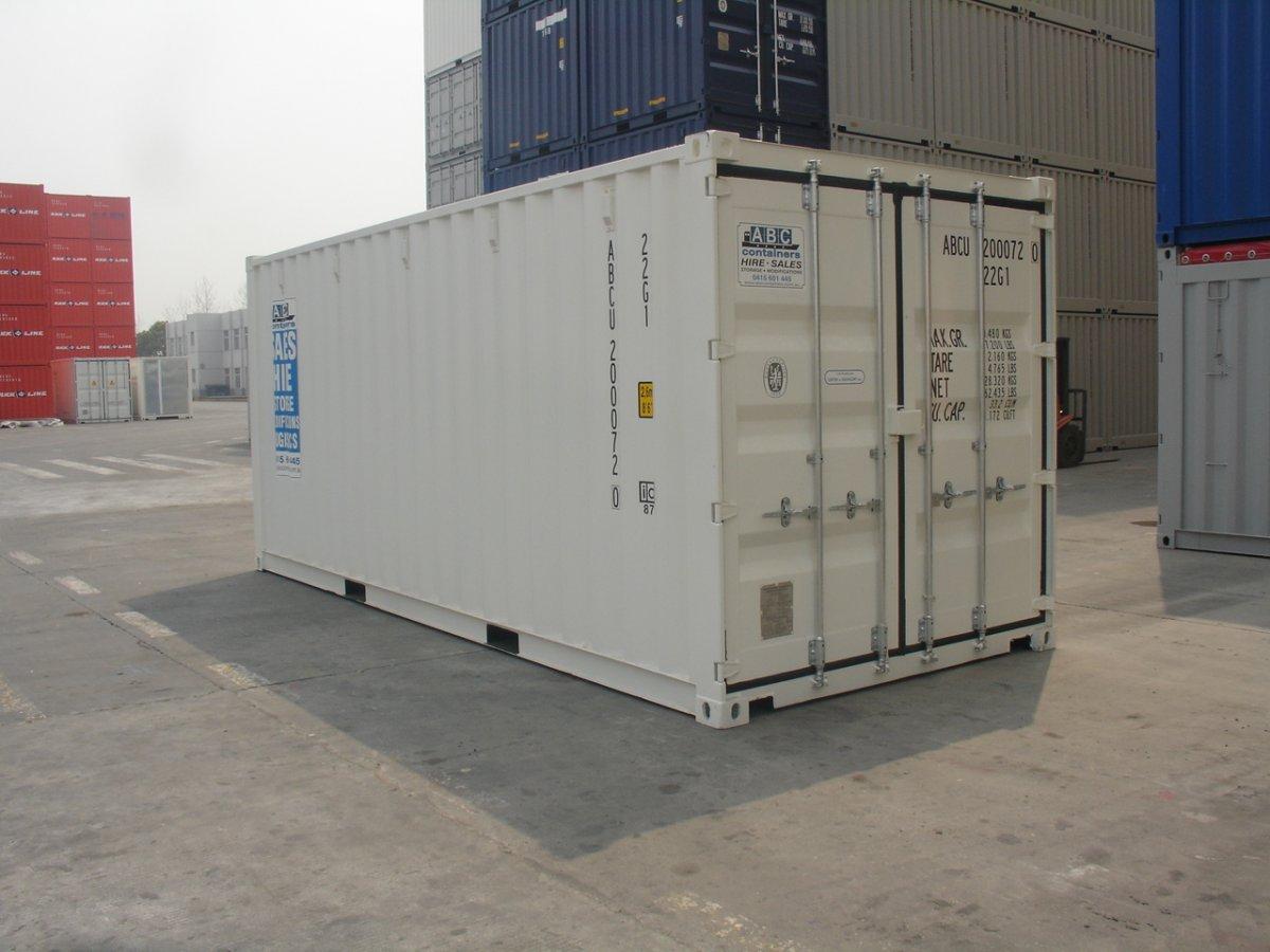 New 20 Foot General Purpose Sea Shipping Container Perth Wa