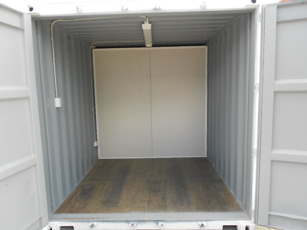 2.5m storage section for portable site office
