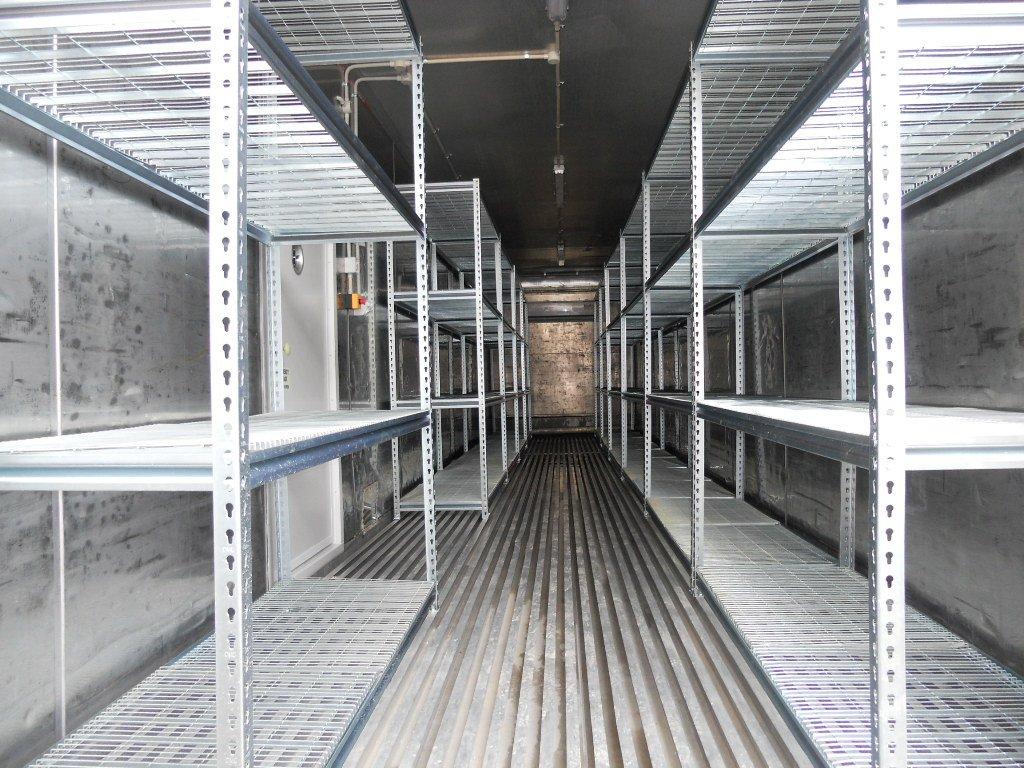 heavy duty food grade mesh shelving