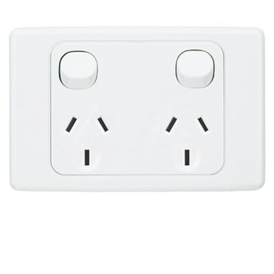 double power socket