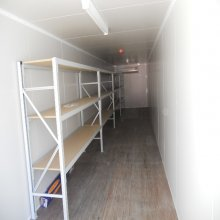 Used 40ft General Purpose Container interior