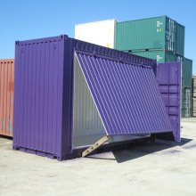 20' Open Side Container - Purple
