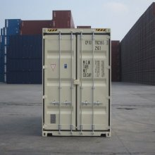 20' High Cube Container End View